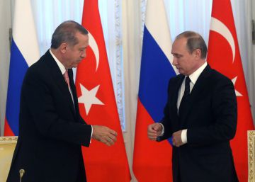 Putin e Erdogan se aproximam