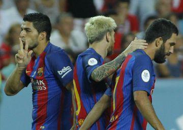 Las mejores imágenes de la ida de la Supercopa