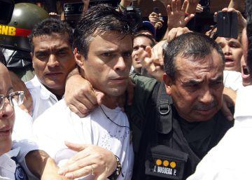 E López continua na prisão