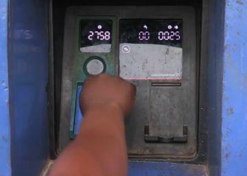 Un cajero automático para sacar agua