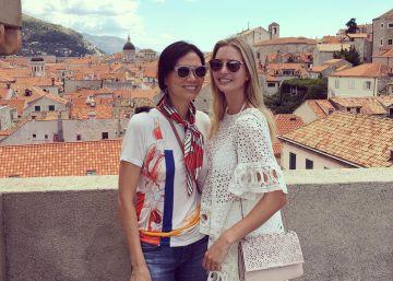 Ivanka Trump y Wendi Deng Murdoch, de vacaciones en Croacia