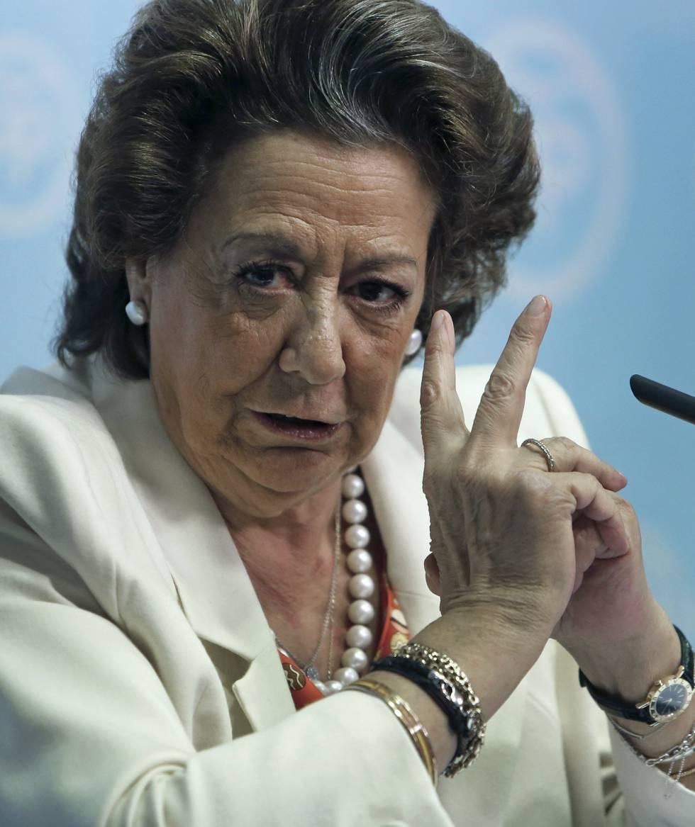 Rita Barberá, senadora y miembro del comité ejecutivo del PP.