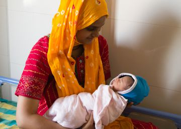 Nacer niña en India