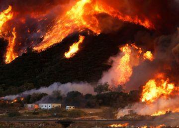 Incendio forestal en California, en imágenes
