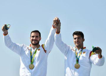 Craviotto y Toro ganan el oro en piragüismo K2 200 metros