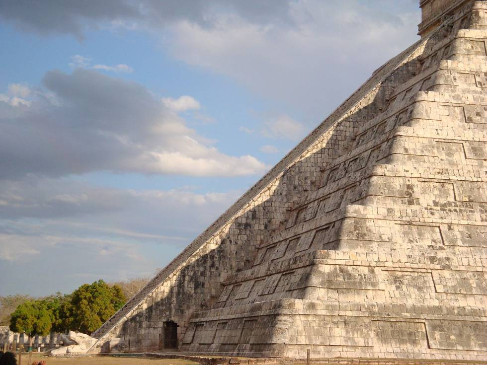 La pirámide de Kukulcán.