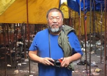 Ai Weiwei visita el barrio bravo de la capital mexicana