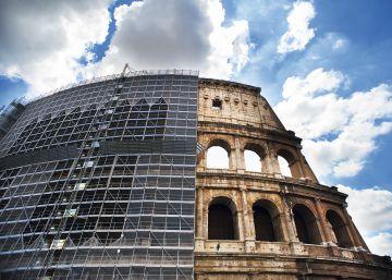Habla el hombre que ha levantado el Coliseo romano