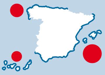 Urbanización de la costa española