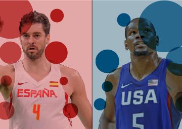 España - Estados Unidos, por un puesto en la final