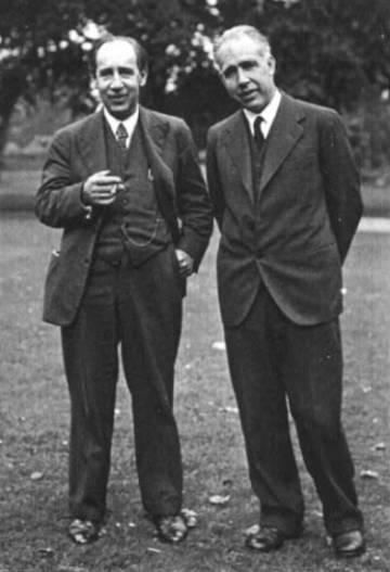 Harald y Niels Bohr
