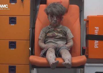 Omran, um menino sírio