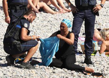 Multa al 'burkini' en Niza