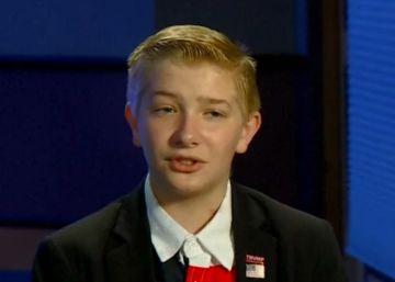 El niño de 12 años que quiere ayudar a ganar a Trump
