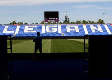 Butarque, el estadio del Leganés, en imágenes