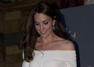 La duquesa de Cambridge en el Museo de Historia Natural de Londres, el pasado 7 de julio.