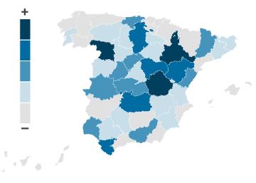 Los 139 municipios a los que Hacienda ha congelado la financiación