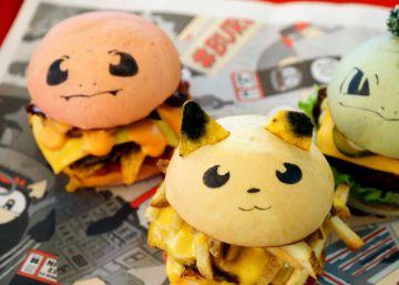 Tenía que ocurrir: llegan las hamburguesas Pokémon