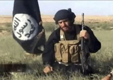 Abu Mohammad al-Adnani, en una captura de vídeo subido a Youtube en 2012.