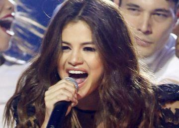 Selena Gomez en un concierto en abril.