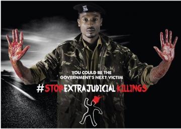 El largo y cálido verano africano: #StopExtrajudicialKillings