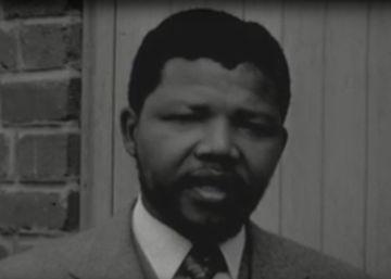 Un vídeo inédito de 1956 muestra la primera aparición de Mandela en televisión