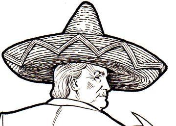 La reunión de Donald Trump y Peña Nieto, en viñetas