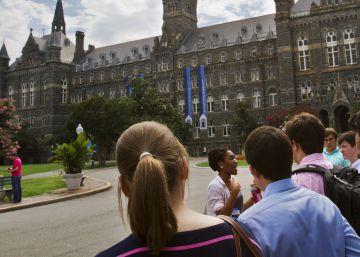 Georgetown repara un capítulo ominoso