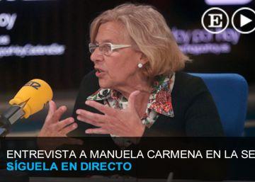 Directo | Manuela Carmena en la Cadena Ser