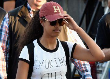Malia Obama y su camiseta 'castigo'