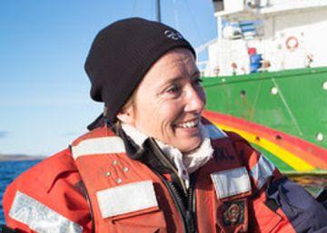 Emma Thompson, activista medioambiental en el Ártico