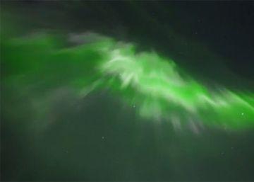 Así iluminó la Aurora Boreal el cielo de Finlandia