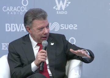 """Juan Manuel Santos: """"La guerra siempre es más costosa que la paz"""""""