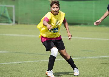 Un fútbol diferente en Camp Barça contra la enfermedad de Chagas
