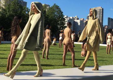 """Desmayos de las """"modelos multirraciales"""" de Kanye West"""