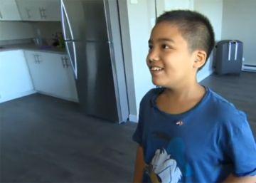 Diki, el niño de 12 años que va a la universidad