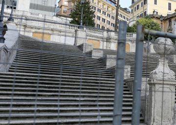 Bulgari quiere que se cierren las escaleras de la Plaza de España de Roma