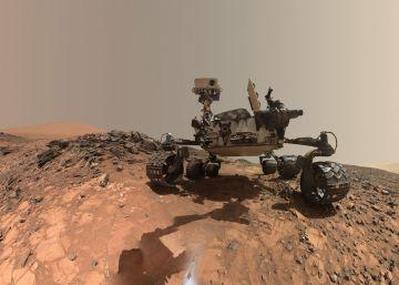 El 'road trip' de 'Curiosity' por el desierto marciano
