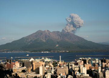 El volcán más activo de Japón está cerca de una gran erupción