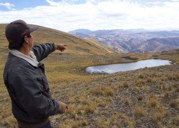 La siembra de lluvia en Los Andes