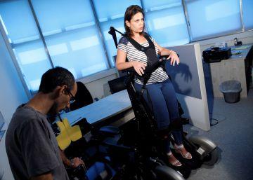 Nueva silla de ruedas vertical