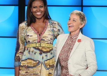 Michelle Obama, presentadora de televisión