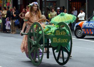 Mejillones y cerveza: así se celebra el día de Molly Malone