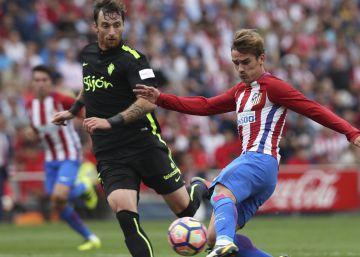Atlético de Madrid-Sporting de Gijón, en imágenes