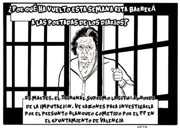 El 'caso Rita Barberá', en viñetas