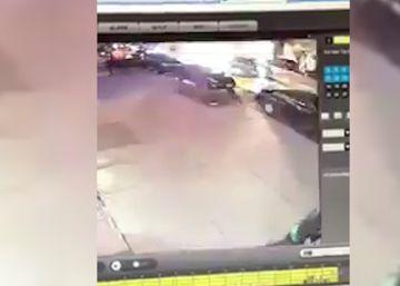 Este es el momento de la explosión en el centro de Nueva York