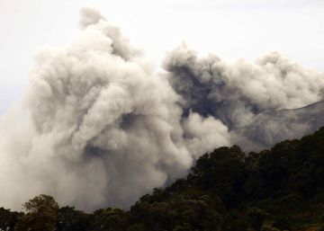 La erupción del volcán Turrialba