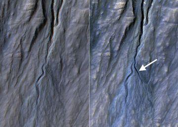 Marte sigue (muy) seco