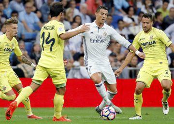 Real Madrid-Villareal, en imágenes