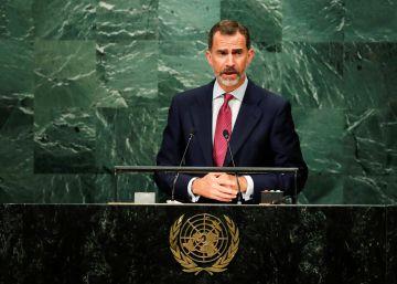 Spanish king's UN speech provides political ammunition back home